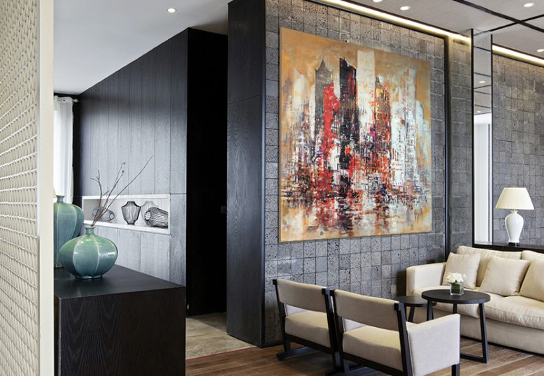 Large Modern Abstract Art Wall90