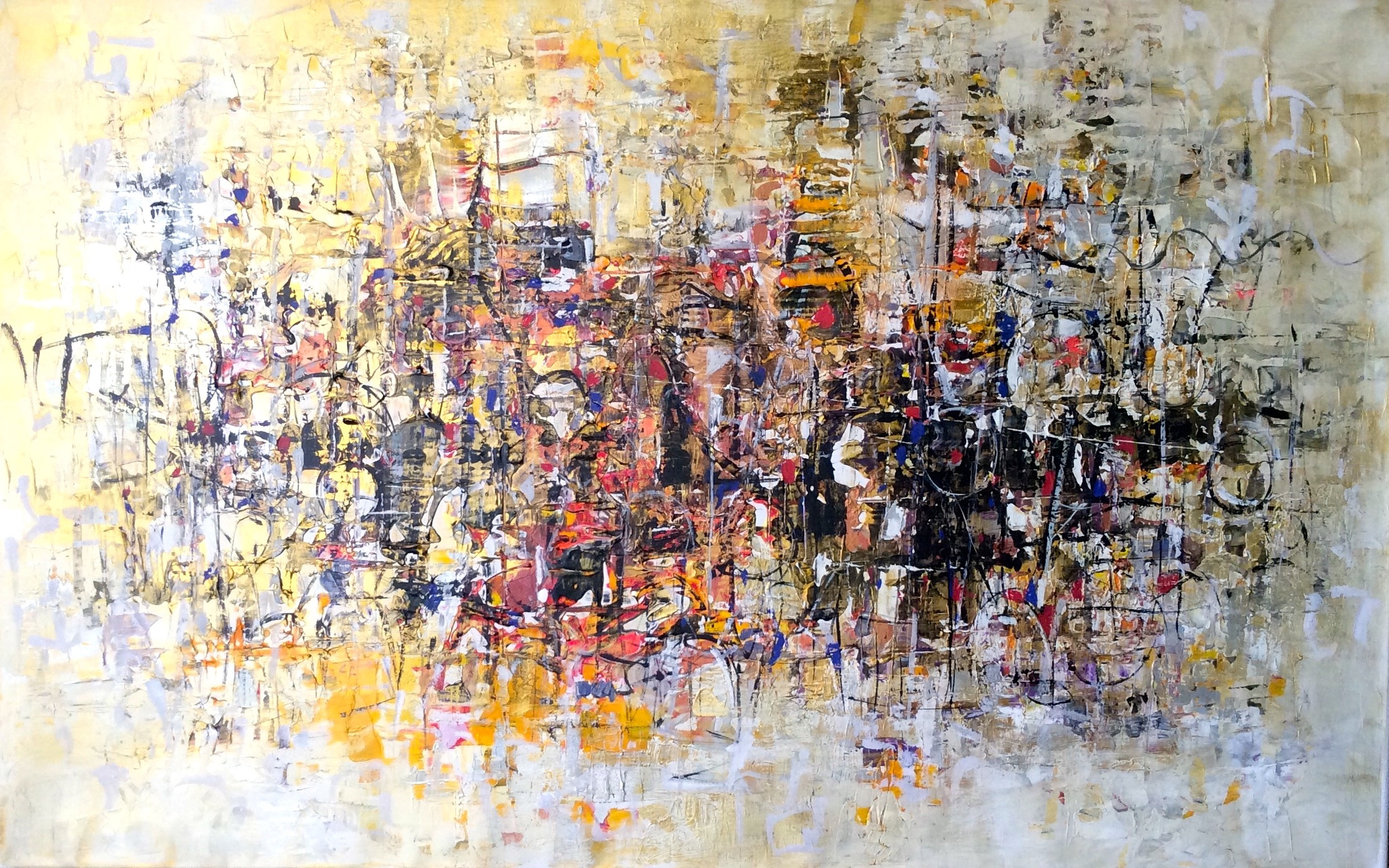 Painting of 4 Seasons by Paul Ygartua