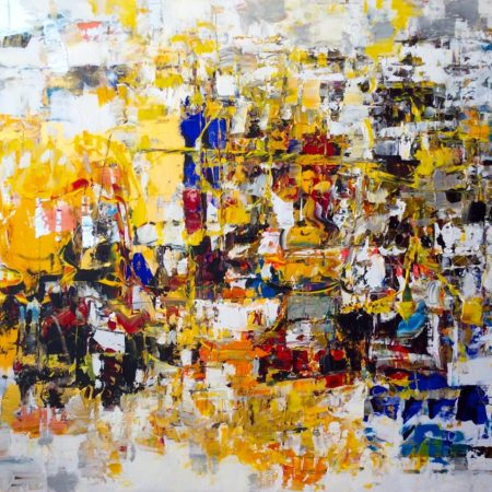 Abstract painting - Summer Days