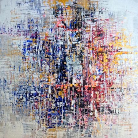 Abstract Painting by Paul Ygartua - Discovery