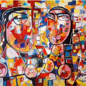 Life Story - Cubism Artwork