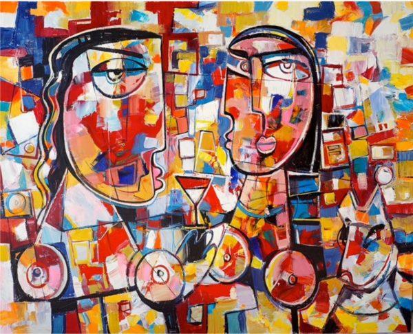 Life Story - Cubism Artwork